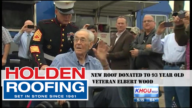 holden roofing reviews and new roof donations